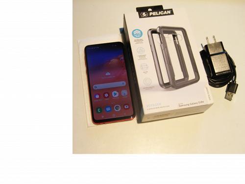 9.1/10 128gb Red Verizon Samsung S10e G970U Wrnty 2/21