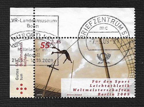German Used Scott #B1017 Catalog Value $1.90