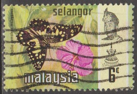 [MAS131] Malaysia (Selangor): Sc. No. 131 (1971) Used