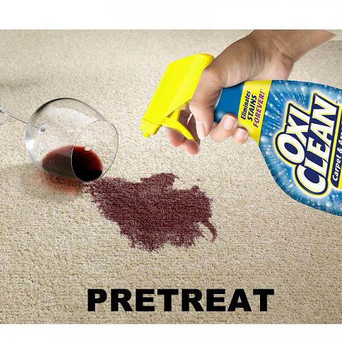 oxiclean splot carpet stain remover
