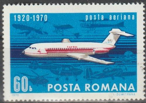[RO9177] Romania: Sc. no. C177 (1970) Used