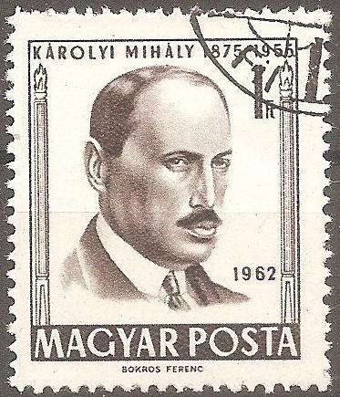 [HU1434] Hungary: Sc. no. 1434 (1962) CTO Single