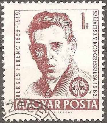 [HU1435] Hungary: Sc. no. 1435 (1962) CTO Single