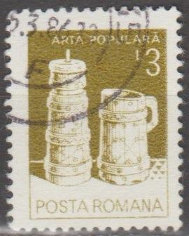[RO3106] Romania: Sc. no. 3106 (1982) Used