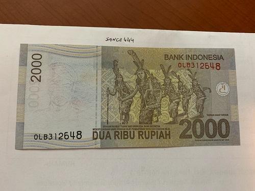 Indonesia 2000 rupiah uncirc. banknotes 2014