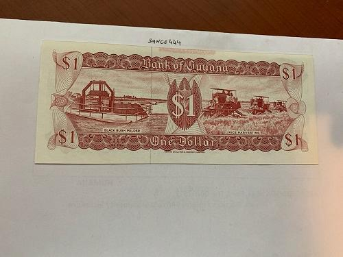 Guyana 1 dollar uncirc. banknote 1992