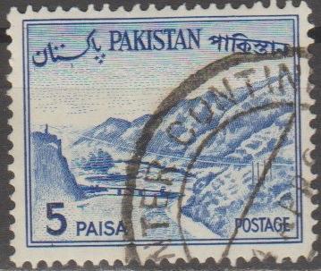 [PK132B] Pakistan: Sc. No. 132b (1963-1970) Used