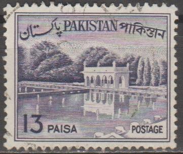 [PK135A] Pakistan: Sc. No. 135a (1963-1970) Used