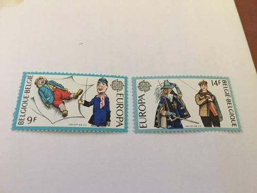 Belgium Europa 1981 mnh stamps