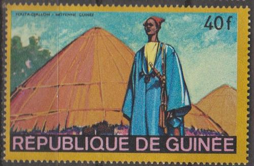 [GN0502] Guinea Sc. no. 502 (1968) MNH