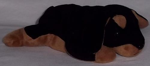 1996 Beanie Baby 'Doby' The Doberman Retired