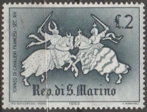 [SM0555] San Marino Sc. no. 555 (1963) MNH