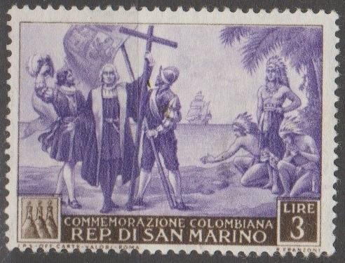 [SM0310] San Marino Sc. no. 310 (1952) MH