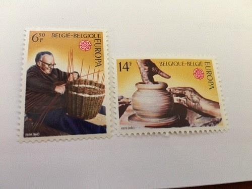 Belgium Europa 1976 mnh stamps