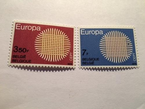 Belgium Europa 1970 mnh stamps