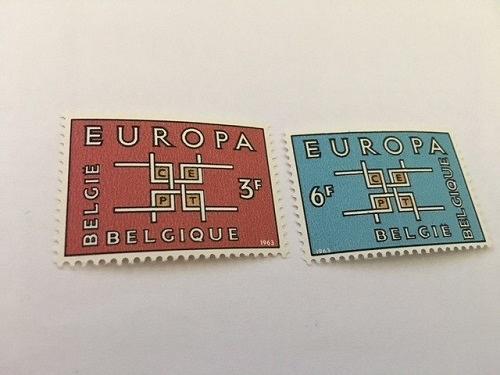 Belgium Europa 1963 mnh stamps