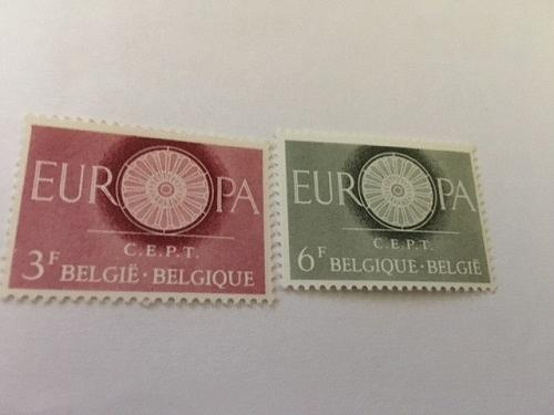 Belgium Europa 1960 mnh stamps