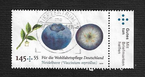 German Used Scott #B1029 Catalog Value $1.90