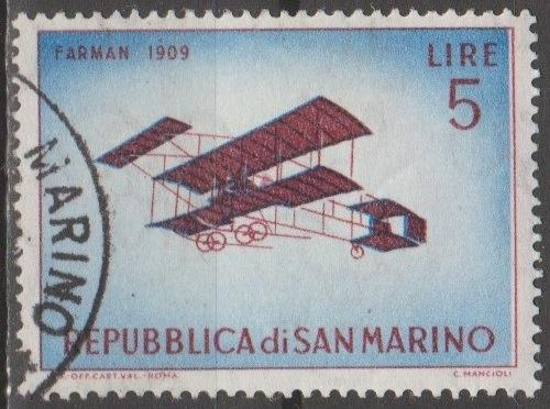 [SM0513] San Marino Sc. no. 513 (1962) Used