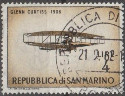 [SM0512] San Marino Sc. no. 512 (1962) Used