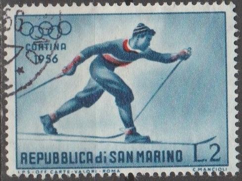 [SM0365] San Marino Sc. no. 365 (1955) Used