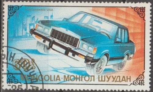 [MG1806] Mongolia Sc. no. 1806 (1990) CTO