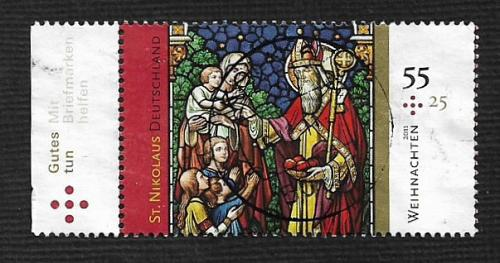 German Used Scott #B1057 Catalog Value $2.00