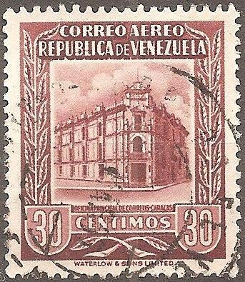 [VZC601] Venezuela: Sc. no. C601 (1955) Used