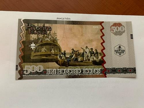Pitcairn Islands 500 pounds uncirc. banknote 2018
