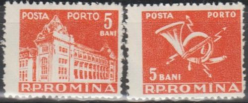 [ROJ116] Romania: Sc. no. J116 (1957) CTO