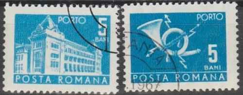 [ROJ122] Romania: Sc. no. J122 (1967) CTO