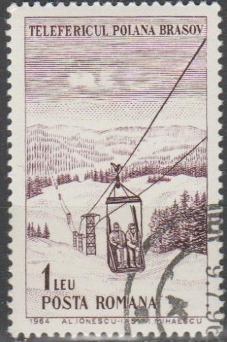 [RO1651] Romania Sc. no. 1651 (1964) CTO