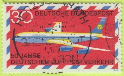 [GE0994] Germany: Sc. no. 994 (1969) Used