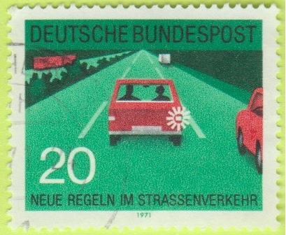 [GE1057] Germany: Sc. no. 1055 (1971) Used