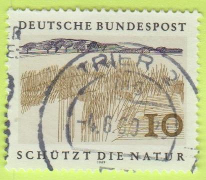 [GE1000] Germany: Sc. no. 1000 (1969) Used