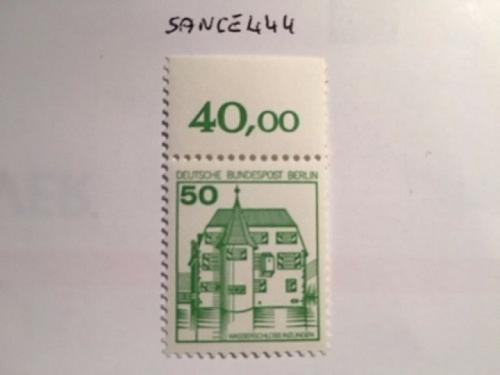 Berlin Definitives Castles 50p mnh 1978 stamps