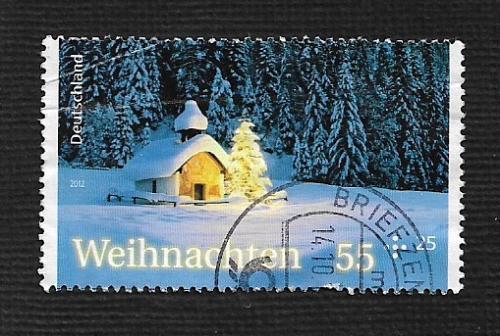 German Used Scott #B1069 Catalog Value $1.40