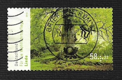 German Used Scott #B1074 Catalog Value $2.25