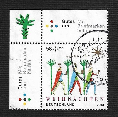 German Used Scott #B1083 Catalog Value $2.25