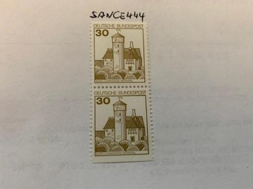 Berlin Castle 30p imperf. dual 1977 mnh stamps