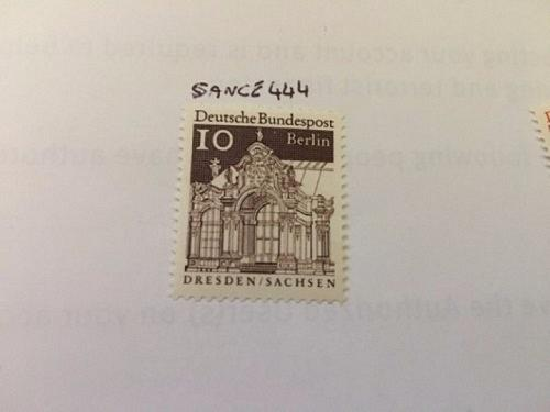 Germany Definitive Buildings 10p 1966 mnh stamps