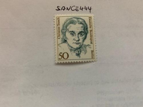 Berlin Famous women C. Teusch politician mnh 1986 stamps