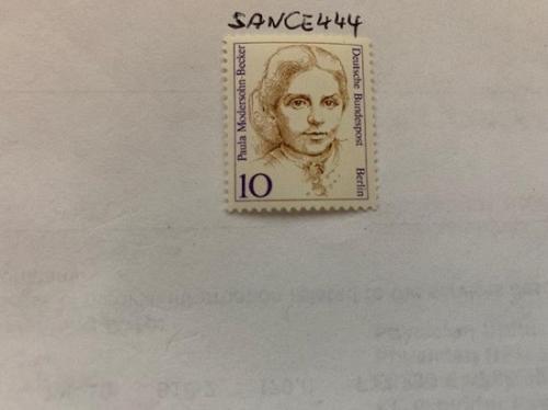 Berlin Famous Women P. Modersohn-Becker painter mnh 1987 stamps