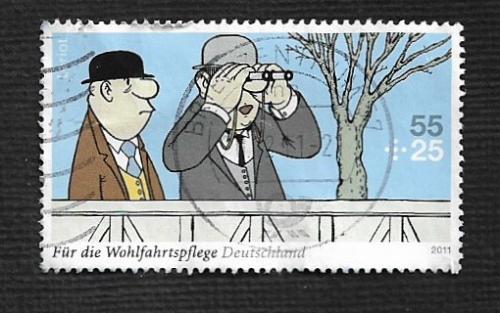 German Used Scott #B1043 Catalog Value $1.90