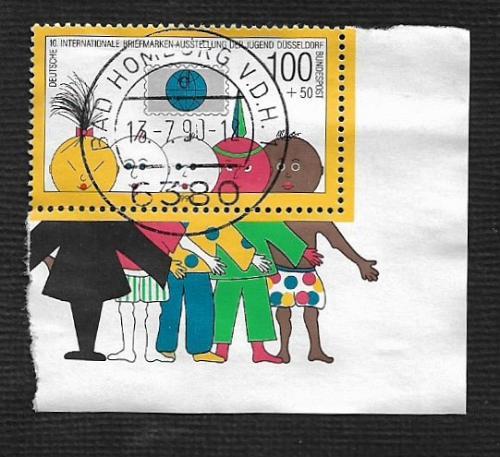 German Used Scott #B693a Catalog Value $2.25