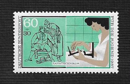 German MNH Scott #655 Catalog Value $1.20
