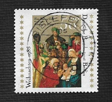 German Berlin Used #9NB231 Catalog Value $.90