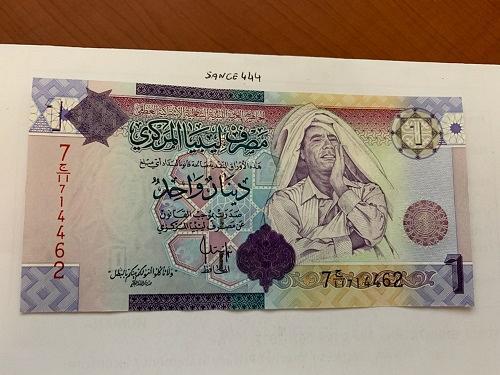 Libya 1 dinara uncirc. banknote 2009 #4