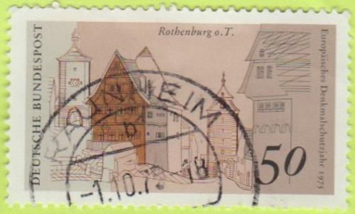 [GE1197] Germany Sc. no. 1197 (1975) Used