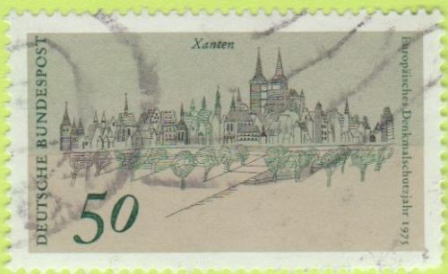 [GE1199] Germany Sc. no. 1199 (1975) Used